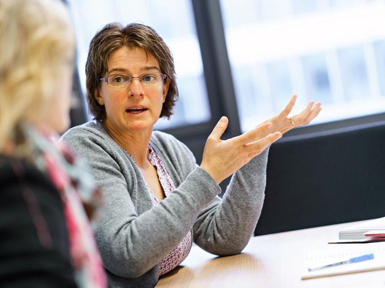 Andrea Trümner im Gespräch