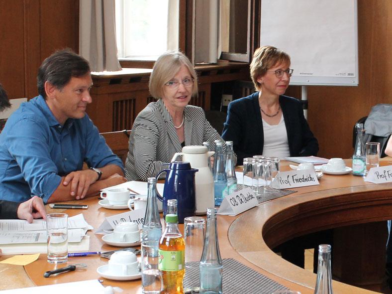 In einem gemeinsamen Pressegespräch der Stadt Herne und der hsg wurde der Selbsthilfeblog vorgestellt.