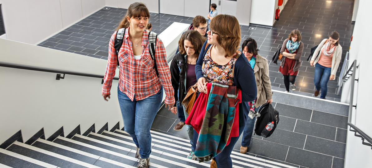 Studenten in der hsg Bochum