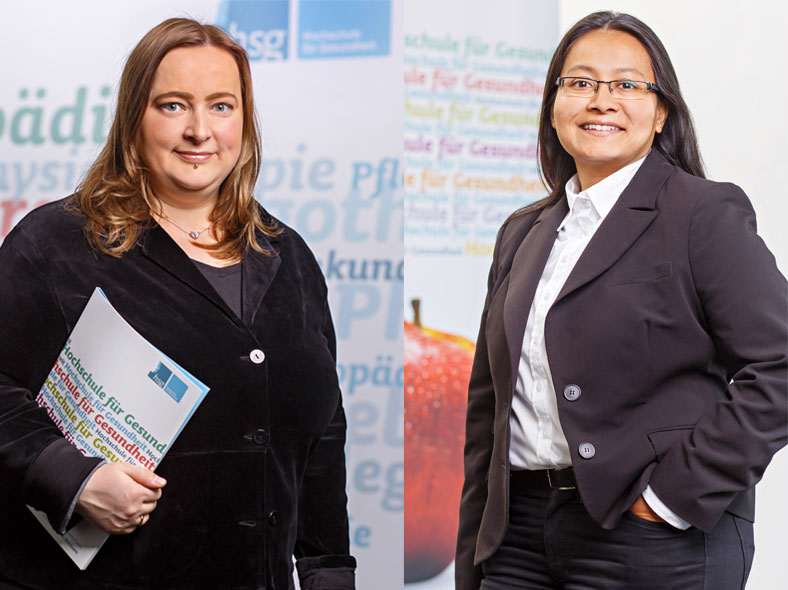 Dr. Tanja Segmüller und Dr. Shoma Berkemeyer wollen Geflüchtete in den Gesundheitsbereich stärker einbinden.