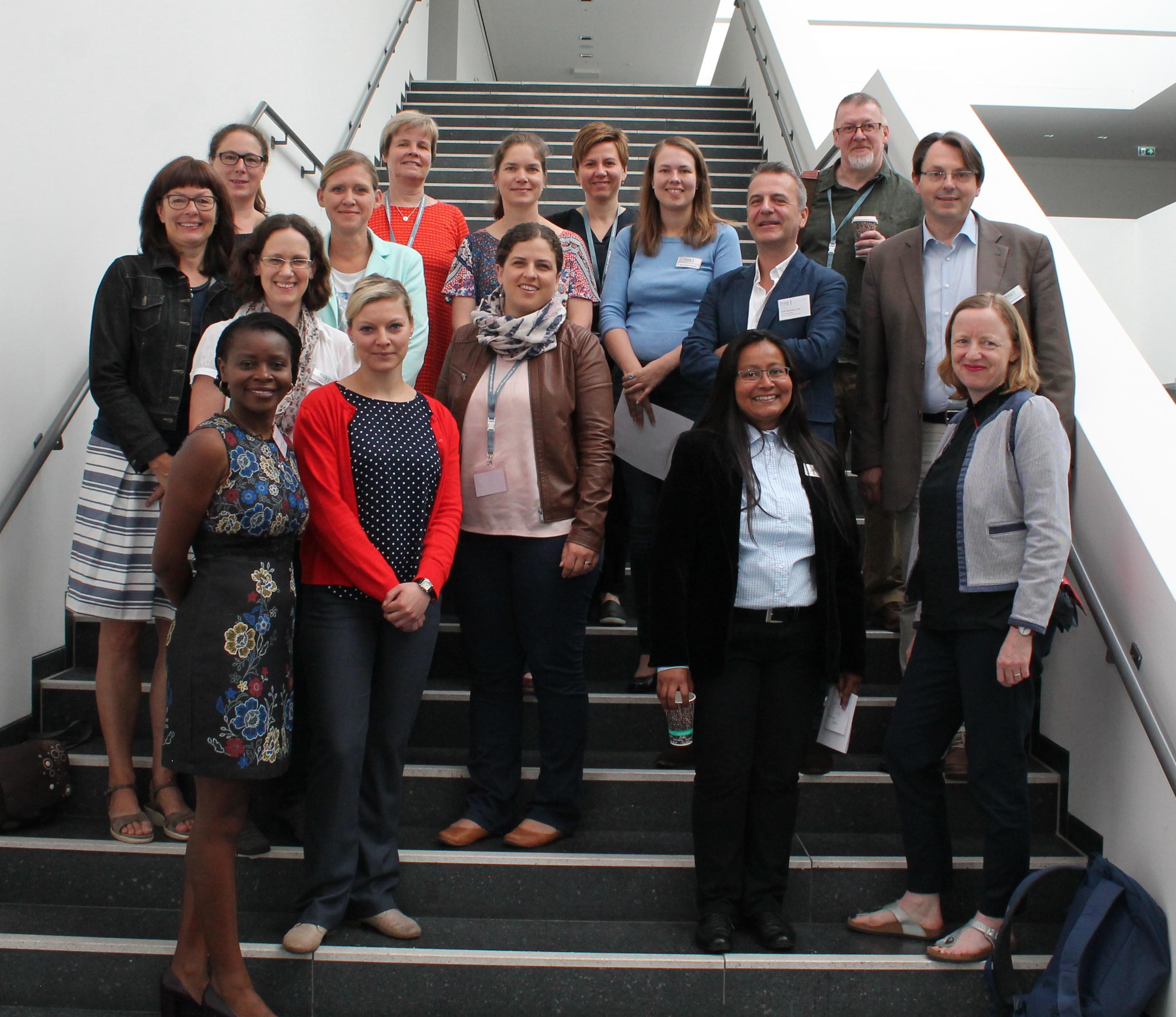 Im Bild sind die Dozent*innen der International Health Days zu sehen.