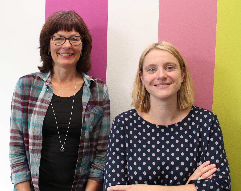 Prof. Dr. Ute Lange (links) und Dr. Simone Sauer-Kretschmer.