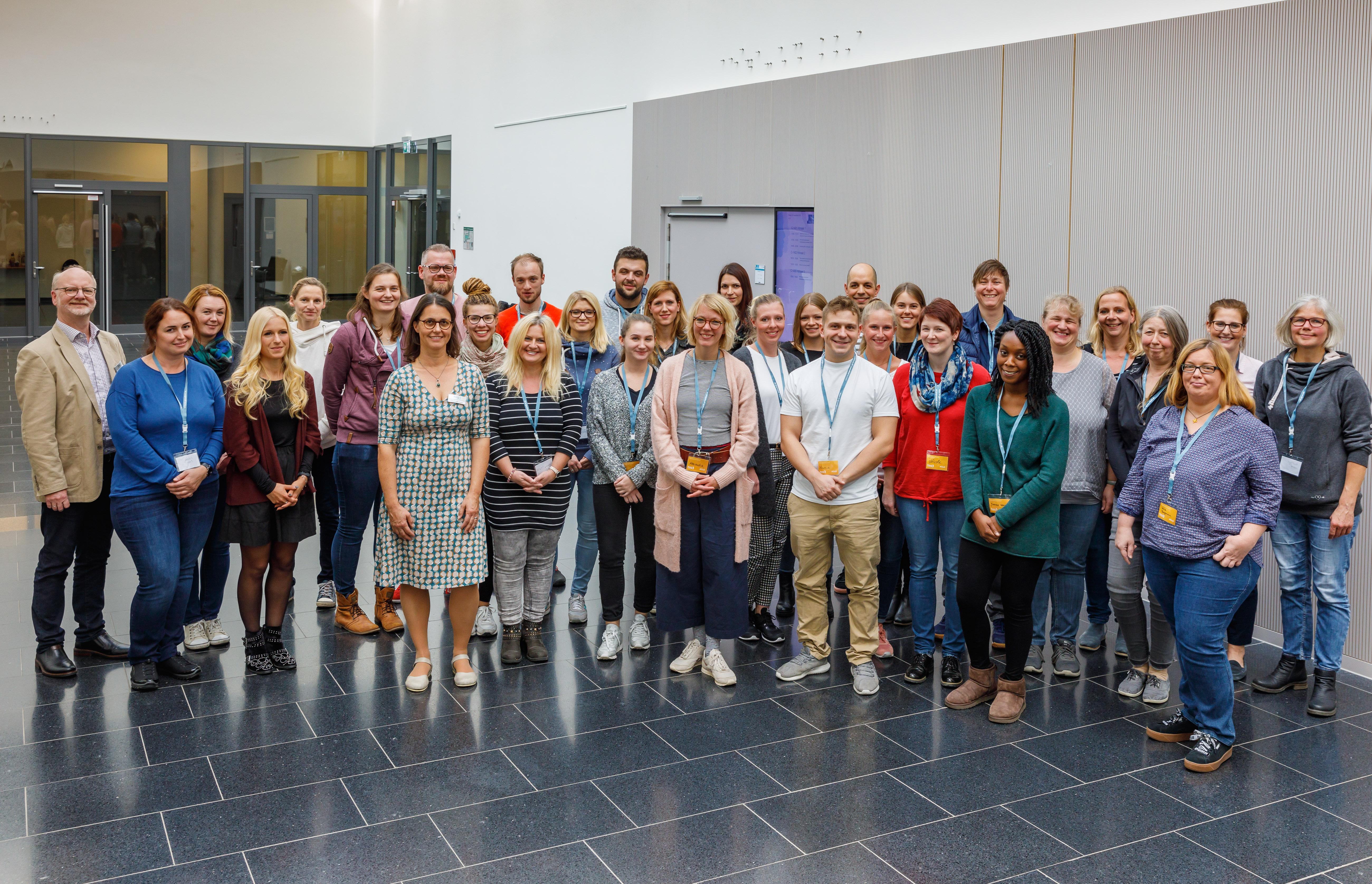 Studienanfänger*innen 'Gesundheit und Sozialraum' der hsg Bochum