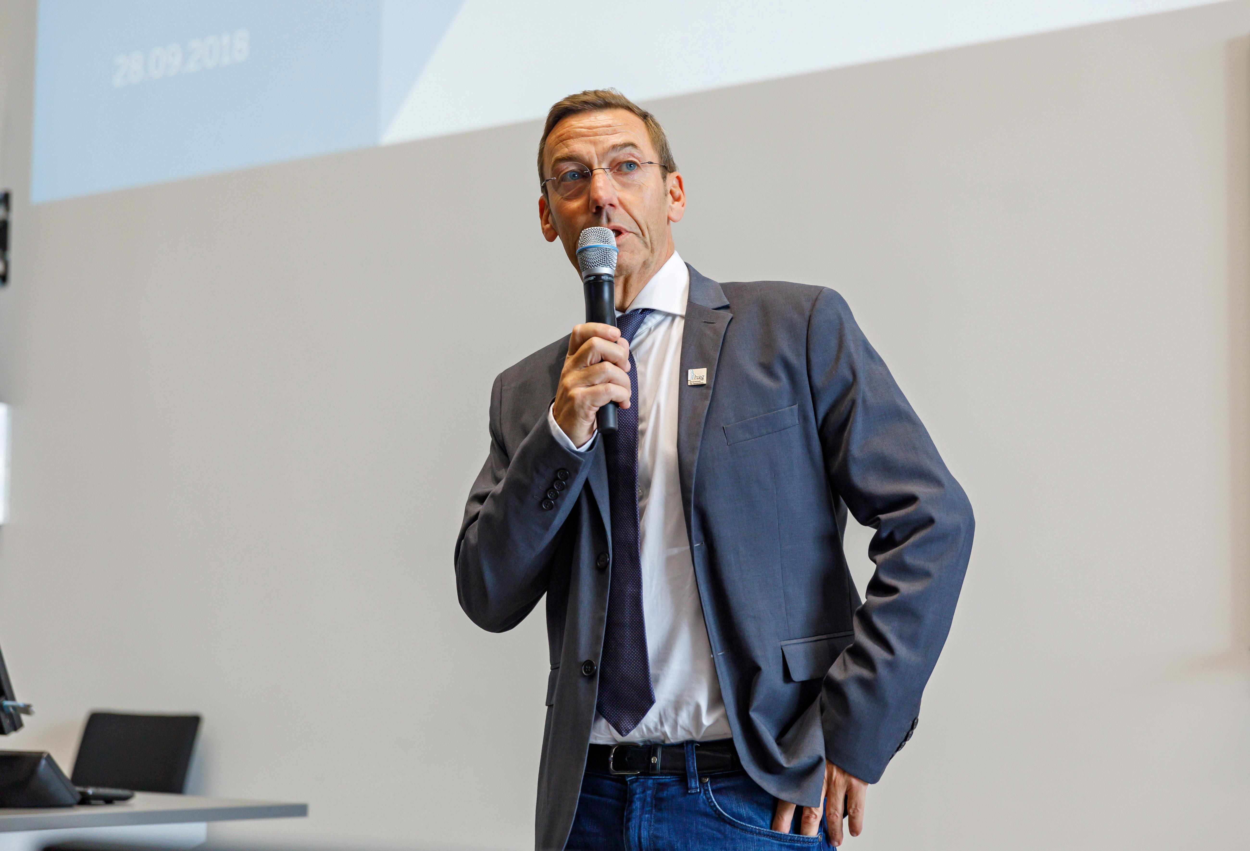 hsg-Kanzler Werner Brüning