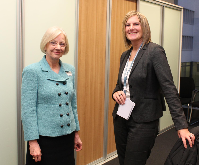 Prof. Dr. Anne Friedrichs und Katja Behler
