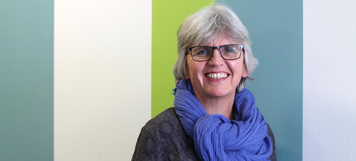 Gaby Schütte ist im LZG.NRW Leiterin der Fachgruppe 'Gesundheits- und Pflegekonferenzen, Themenentwicklung'. Foto: hsg Bochum/Christiane Krüger