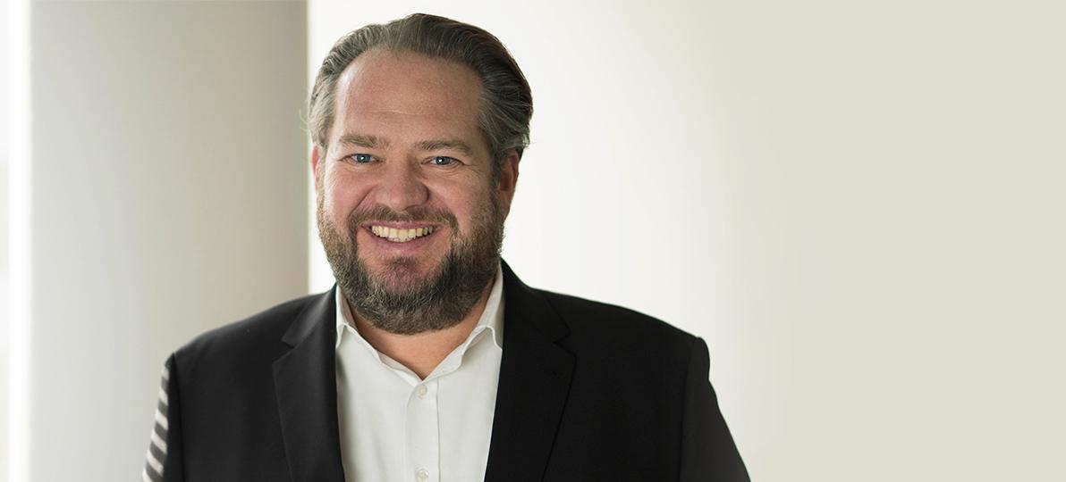 Prof. Dr. Christian Timmreck im Januar 2020 kurz nach Beginn seiner Amtszeit als Präsident der Hochschule für Gesundheit.