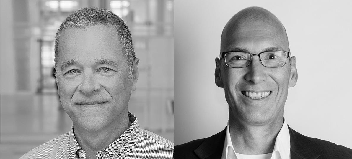 Prof. Dr. Andreas Stang (links) und Dr. Andres Schützendübel (rechts).