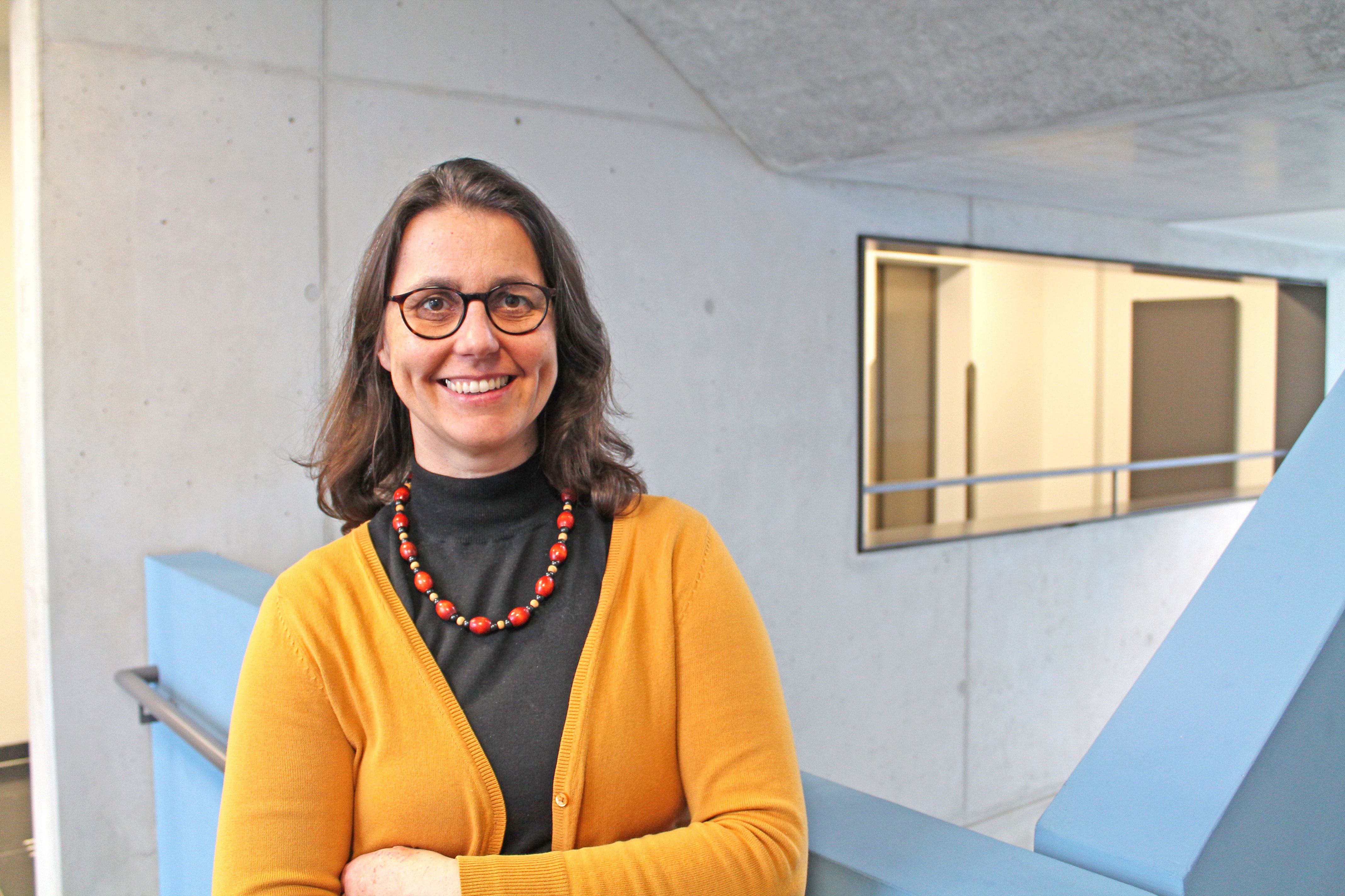 Prof.in Dr.in habil. Heike Köckler, Professorin für Sozialraum und Gesundheit an der hsg Bochum.