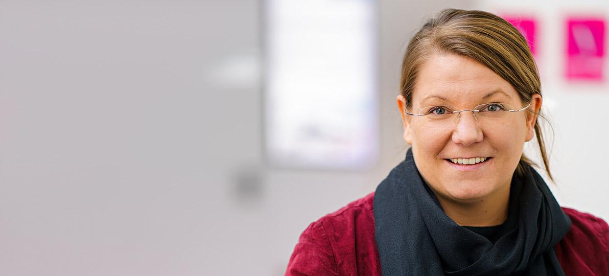 Zu sehen ist Prof. Dr. Nina Gawehn.