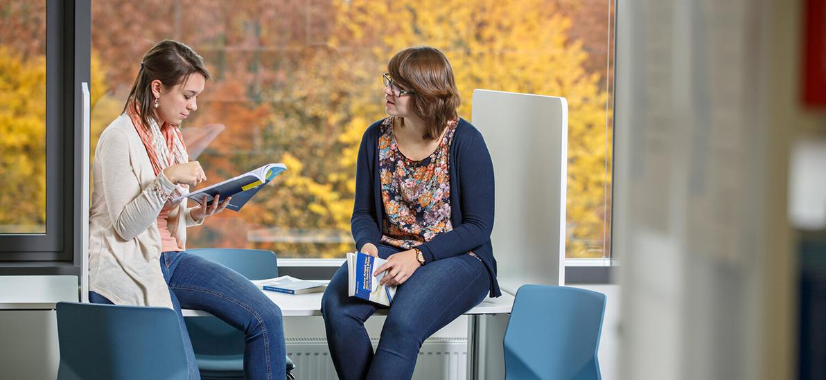 Studierende Lernen miteinander (Symbolbild).